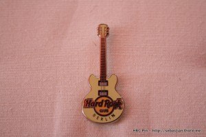 HRC Pin - Berlin - Core Guitar Series